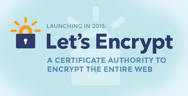 Free SSL Starting Summer 2015